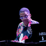 Herbie Hancock bij de Jazz 2001 van Umbrië Stock Foto