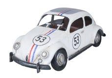 Herbie op witte achtergrond Stock Afbeeldingen
