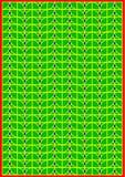 Herbier abstrait Image libre de droits
