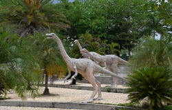 Herbivorous dinosaurs Stock Image