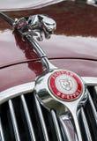 Herblay retro auto 2016 - Jaguar MK2 Imagen de archivo libre de regalías