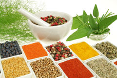 Herbs And Spices Royalty Free Stock Photo