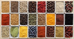 Herbs ang spices Royalty Free Stock Image