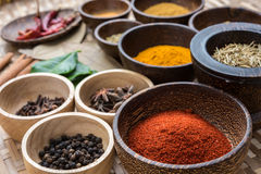 Herbs of asian Royalty Free Stock Photography