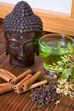 Herbs for buddha Stock Photos