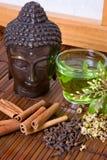 Herbs for buddha stock photos