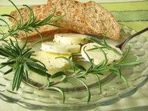 Herbs butter with rosemary Royalty Free Stock Image