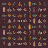 Herbs icons. Herbs and autumn icons. abstract background Stock Image