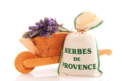 Herbs and Lavender Royalty Free Stock Photos