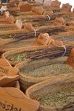 Herbs market Royalty Free Stock Photography