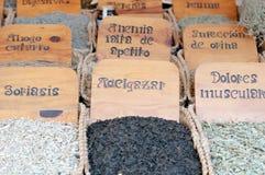 Herbs medicinal Royalty Free Stock Photography