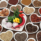 Herbs n Spice is Nice Stock Photo