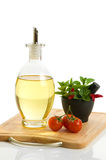 Herbs & Olive Oil Royalty Free Stock Image