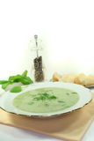 Herbs soup Stock Photography