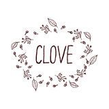 Herbs and Spices Collection - Clove Royalty Free Stock Photos