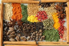 Herbs and spices. Stock Photo