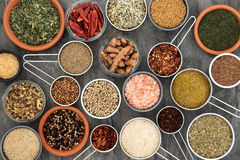 Herbs and Spices for Cooking Royalty Free Stock Images
