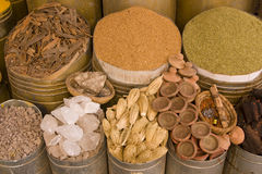 Herbs and Spices in Marrakesh Royalty Free Stock Photography