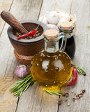 Herbs, spices and seasoning Stock Photography