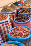 Herbs and spices in the souks of Marrakesh Royalty Free Stock Photo