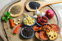 Herbs And Spices. stock image