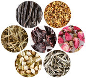 Herbs for tea Stock Images