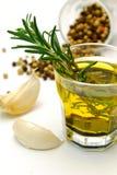 Herbs on white background Stock Photos