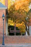 Herbst-Ablagen Stockfoto