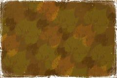 Herbst abstrakter grunge Hintergrund Lizenzfreie Stockfotografie