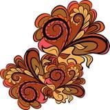 Herbst-abstrakter Hintergrund Lizenzfreies Stockfoto