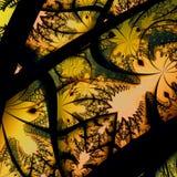 Herbst-abstrakter Hintergrund Lizenzfreies Stockbild