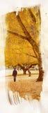 Herbst-Anstrich lizenzfreie abbildung