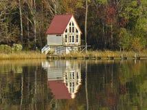 Herbst auf Chesapeake Bay in Maryland lizenzfreies stockbild