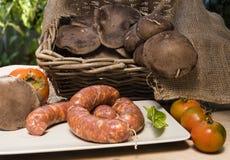 Herbst-auf dem Tisch Italiener Stockbild