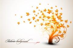 Herbst-Baum stock abbildung