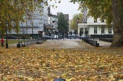 Herbst bei Hyde Park Stockfotografie