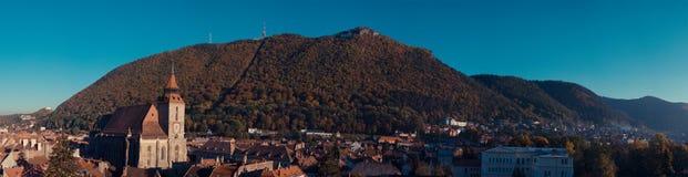 Herbst in Brasov, Rumänien lizenzfreies stockbild
