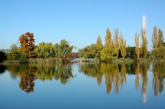 Herbst Canberra Lizenzfreies Stockfoto
