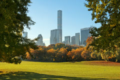 Herbst in Central Park, New York Lizenzfreies Stockfoto
