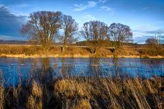 Herbst contryside Landschaft in Russland Lizenzfreie Stockbilder