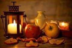 Herbst-Dekoration Stockfoto