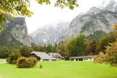 Herbst in den Alpen Stockfotografie