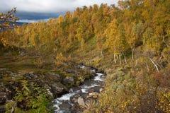 Herbst in den Bergen Lizenzfreie Stockbilder
