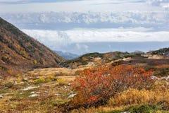 Herbst in den zentralen Alpen, Japan Lizenzfreie Stockbilder