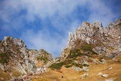 Herbst in den zentralen Alpen, Japan Stockfotografie