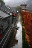 Herbst der Chinesischen Mauer Lizenzfreie Stockfotos