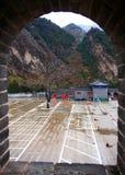 Herbst der Chinesischen Mauer Stockfotografie