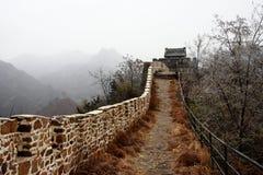 Herbst der Chinesischen Mauer Stockbilder