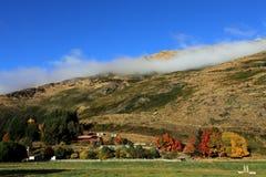 Herbst in der Südinsel Neuseeland Lizenzfreies Stockfoto