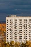 Herbst in der Stadt Stockbild